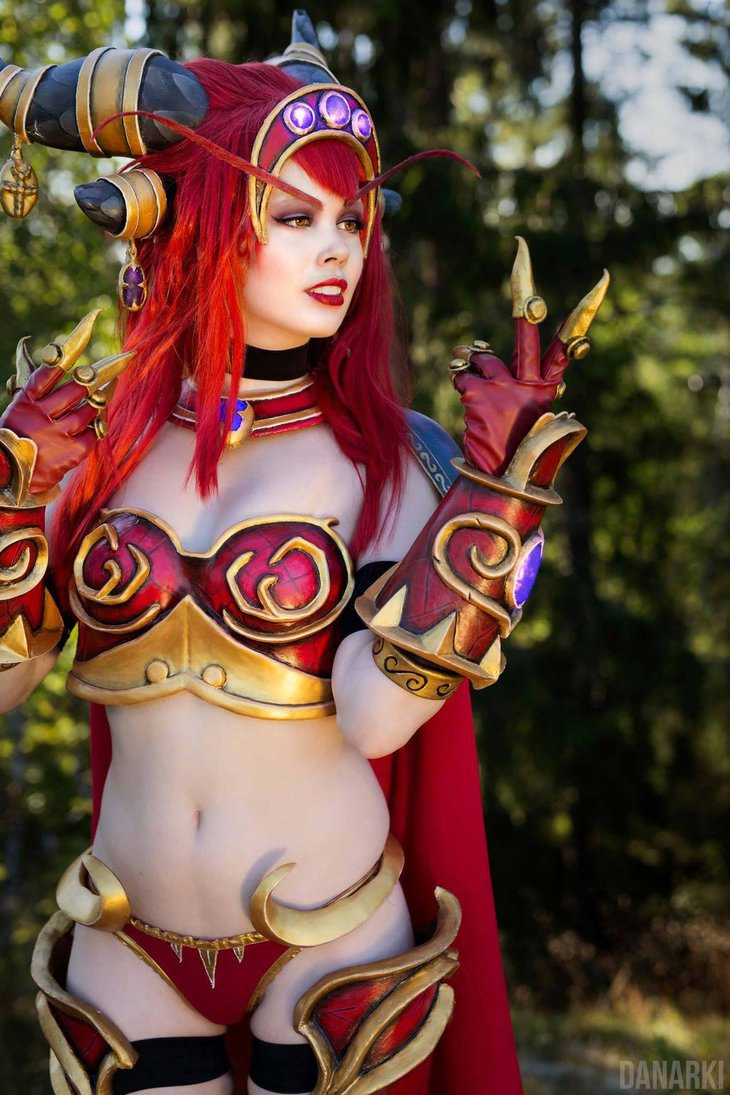 Alexstrasza gagged erotic comic