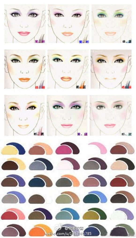 Цвет глаз и макияж