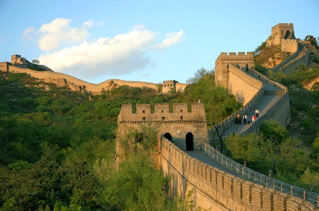 The great wall где находится