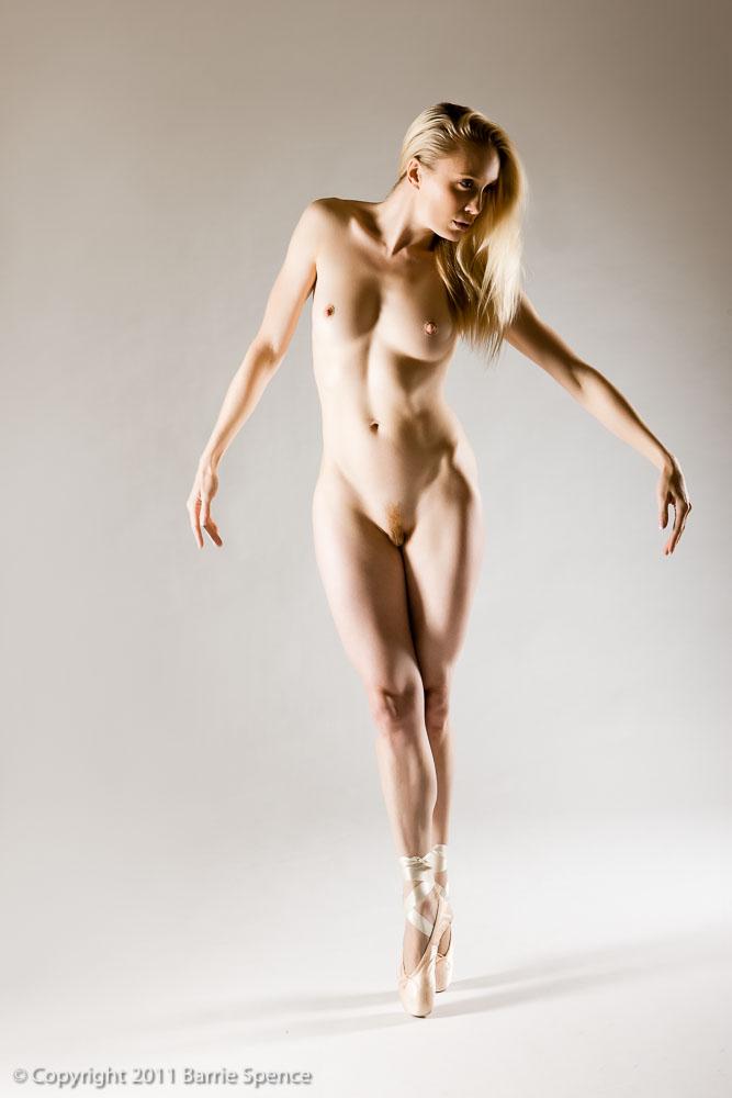 Artistic female nude photograph
