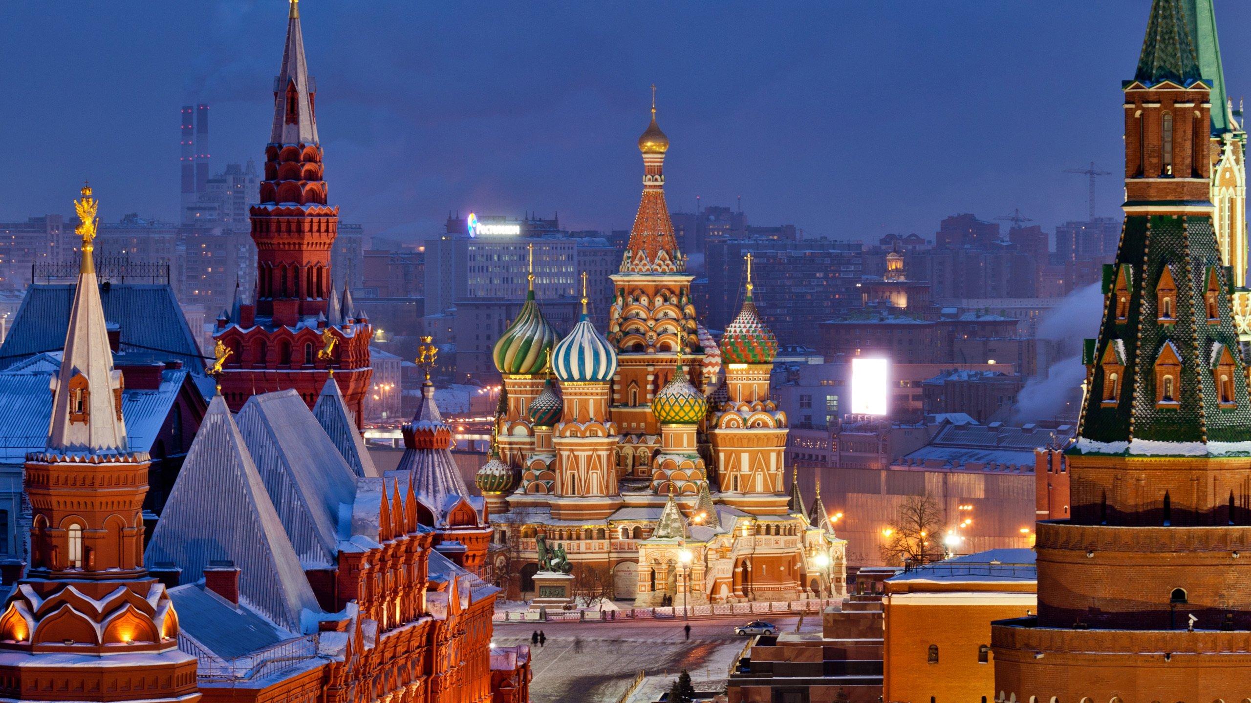 Красная площадь панорама