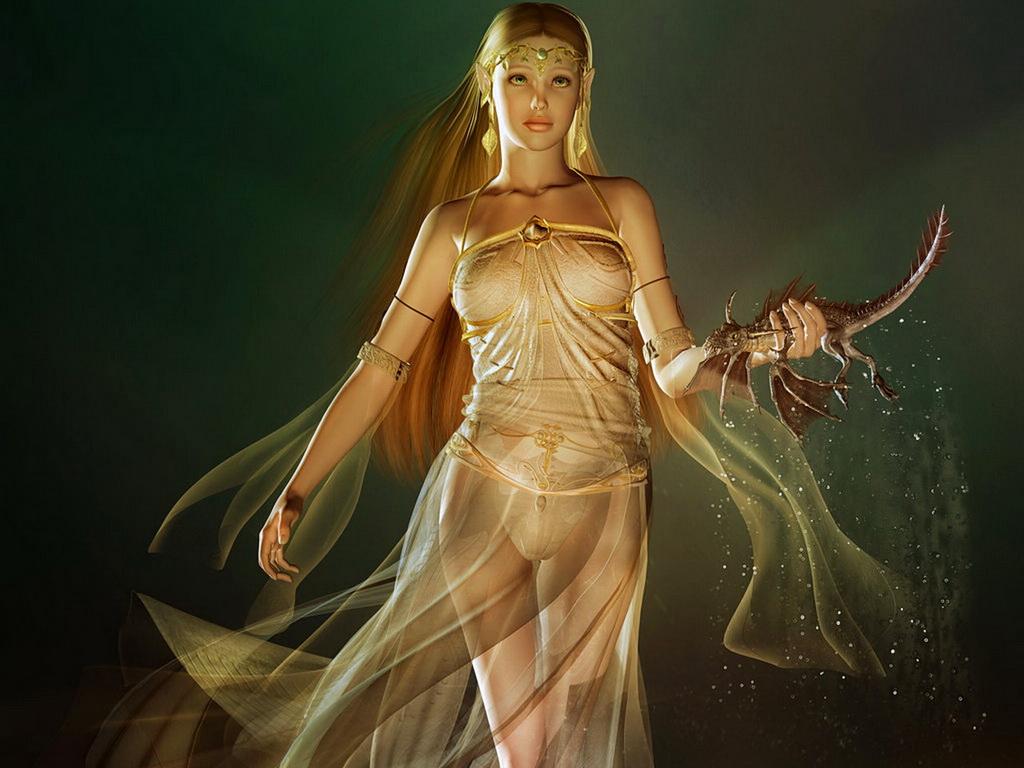 богиня голая фото