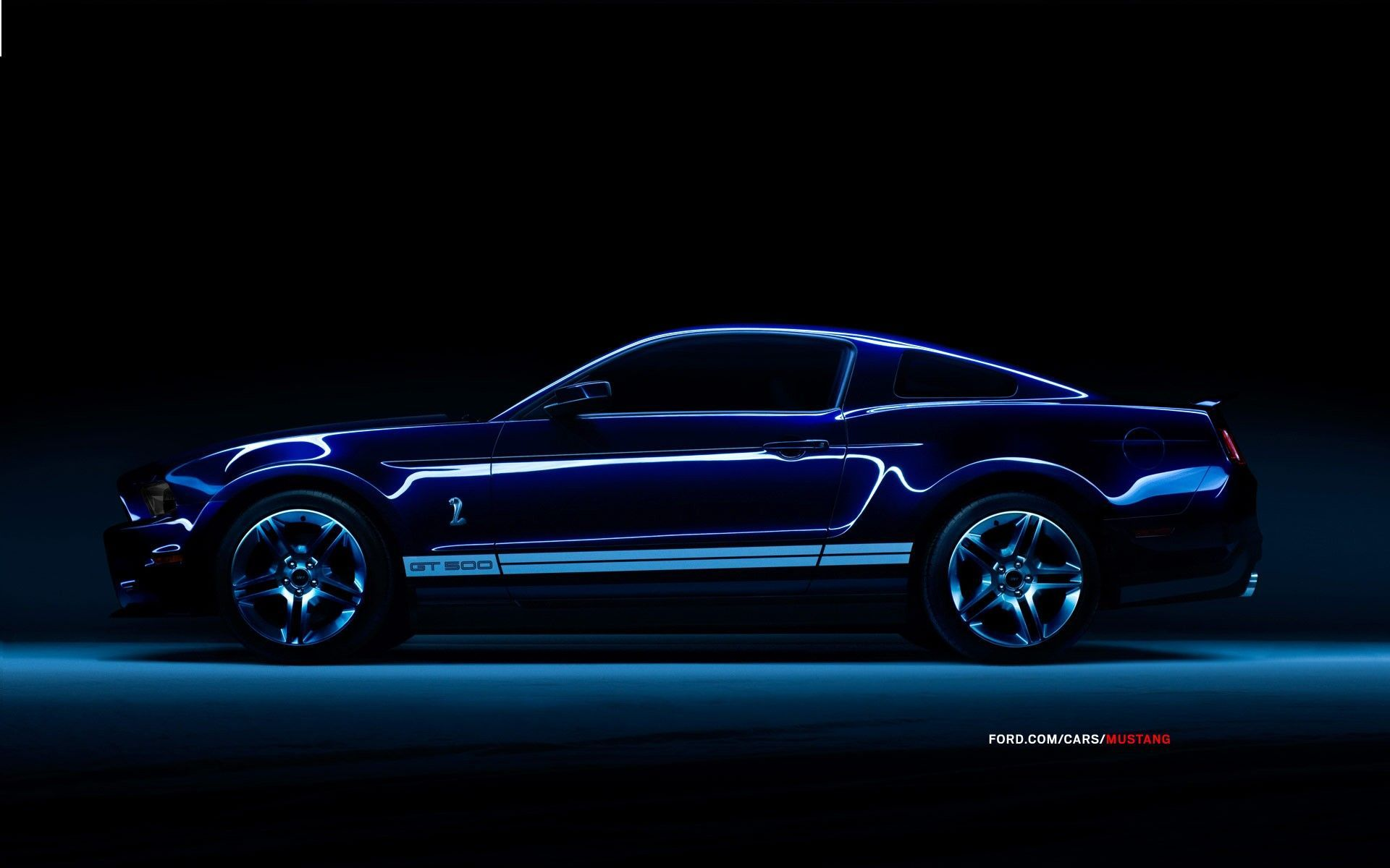 Ford Mustang Shelby GT 500 - обои для рабочего стола ...