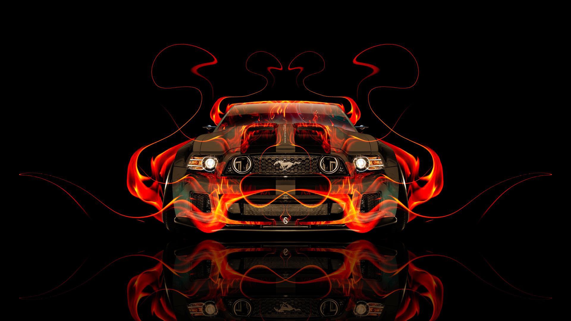 Mustang - фото обои на рабочий стол, картинки с ...