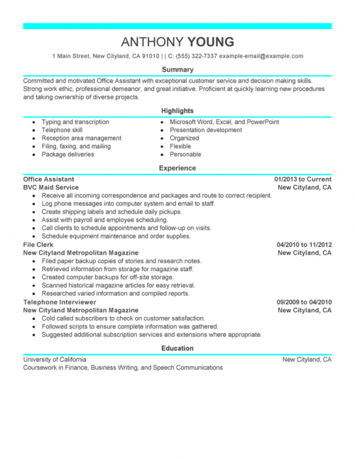 medical device resume examples
