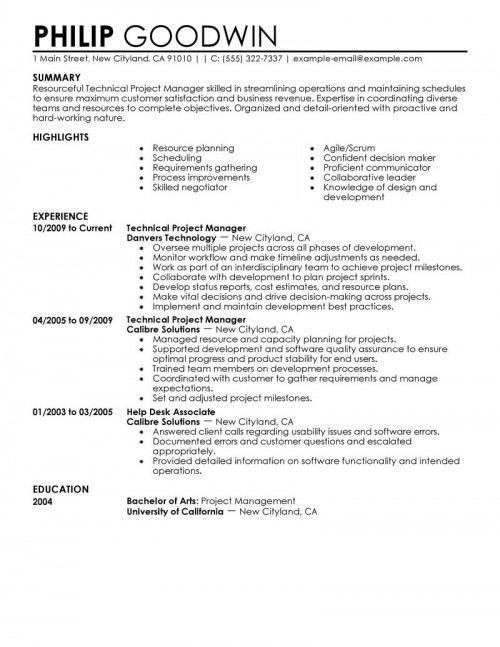 areas interest resume computer science