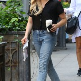 Chloe Moretz on the set of an unknown project in NYC - June 17