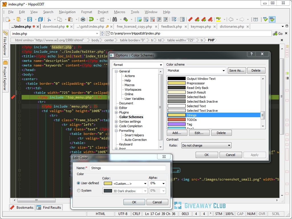 Hippoedit V Windows Text Editor For